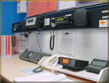 Morphett Vale CFS Communications room