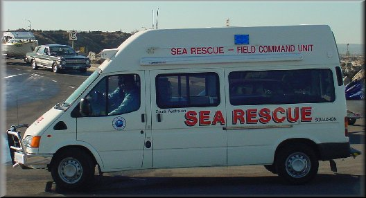 Sea Rescue command vehicle