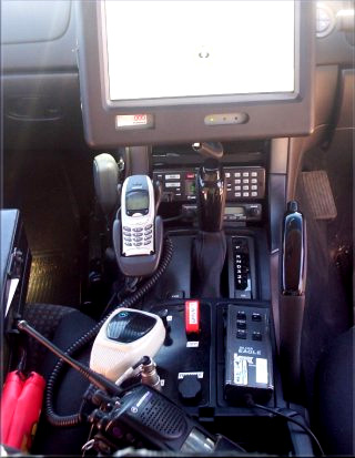 SAPOL Vehicle Console