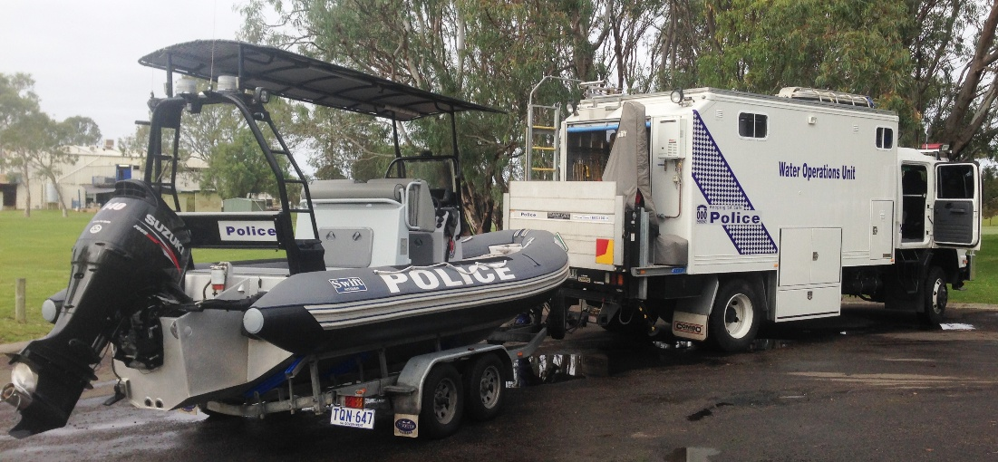 SAPOL Water Operations